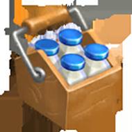 Crate of Milk