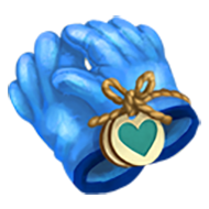 Heirloom Blue Rubber Glove