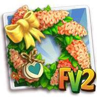 Heirloom Orange Cassia Wreath