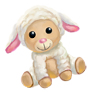Stuffed Sheep Toy