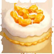 Mango Angel Fruit Cake