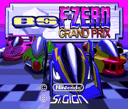 BS F-Zero Grand Prix title screen