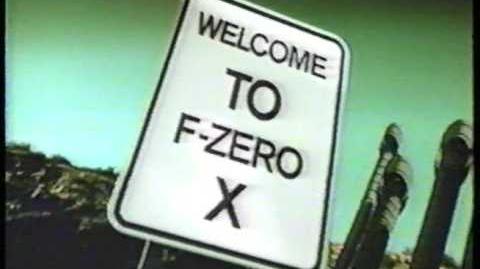 F-Zero X (1998) USA Commercial