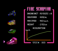 BS F-Zero Fire Scorpion