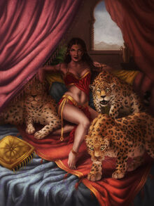 Persian princess by riikozor-d6l3rs3