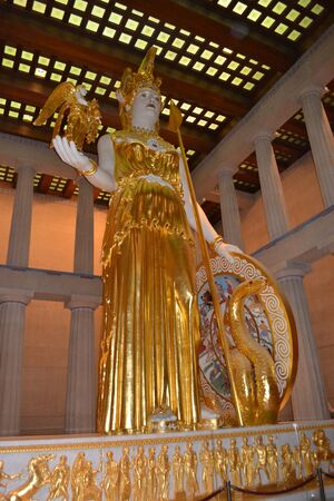 Statue-of-Athena-closeup-Nashville-Parthenon