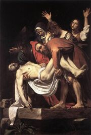 Deposition of Christ - Caravaggio