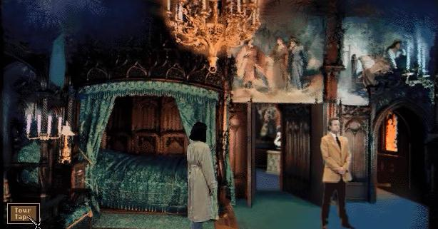 File:Neuschwanstein Bedroom Tristan & Isolde.jpg