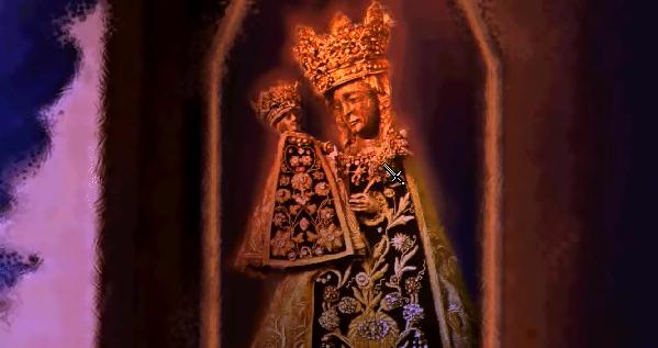 File:Neuschwanstein Black Madonna of Altodding.jpg