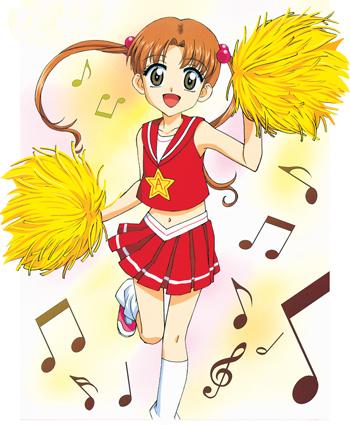 File:Cheerleader Mikan.jpg