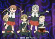 Otonashi performing her alice