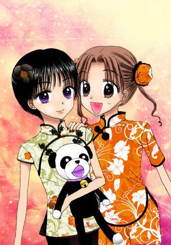 File:Mikan and Hotaru by sunnyday91.jpg