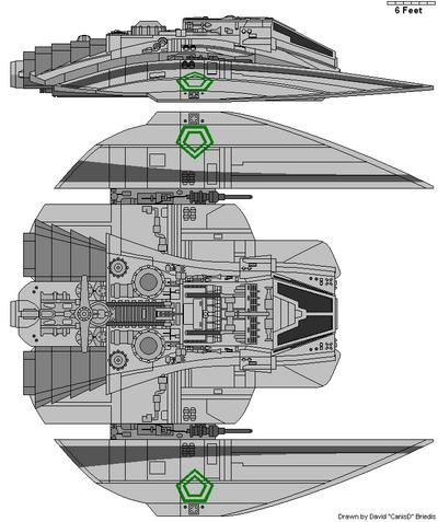 Cylon Raiders Mark II (Reconnaissance Raider - Light Raider)