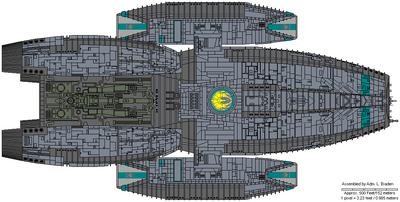Delphi Class Escort Battlestar
