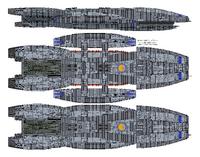Columbia Class Battlestar