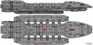 Battlestar Ark Royal (Illustrious Class)