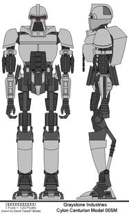 Cylon Centurion Model 005M