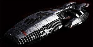 Battlestar Pegasus Columbia Class