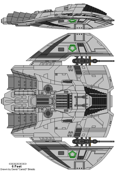 Cylon Raider Mark III (D8)