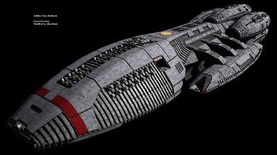 Achilles Class Battlestar