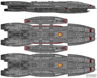 Battlestar Galactica - Columbia Class