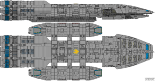 Atlantia Class Battlestar
