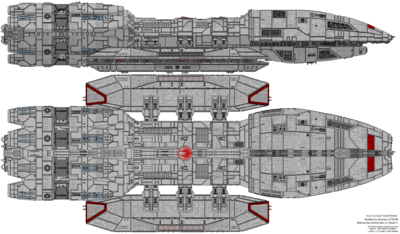 Battlestar Eternal (Mercury Class)