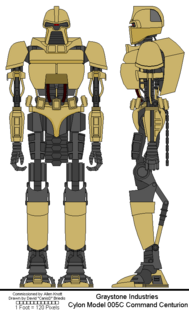 Cylon Centurion Model 005C