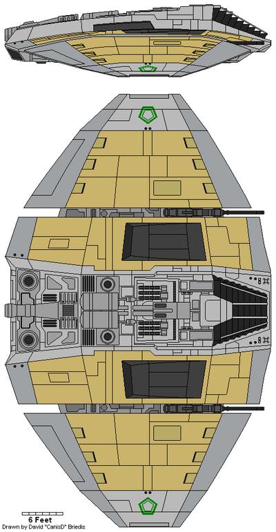 Cylon Raider Mark IV