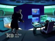 The Snow Kids training in the Holotraining Cube