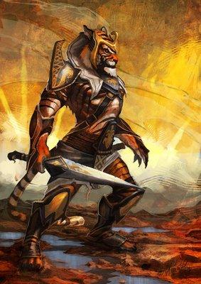 how to make humanoid warriors