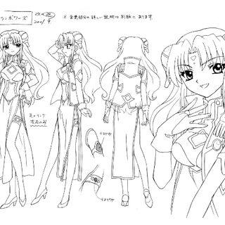 Ranpha Anime Concept Art