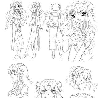 Ranpha Anime Concept Art 4