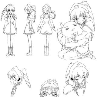 Vanilla Anime Concept Art
