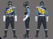 Black Dino Charge Ranger Form2