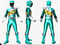 Green Dino Charge Ranger Form