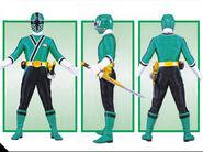 Green Samurai Ranger Form2