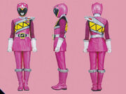 Pink Dino Charge Ranger Form2