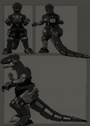 Black Super T-Rex Dinozord