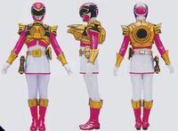Pink Megaforce Ranger Ultra Mode