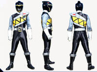 Black Dino Charge Ranger Form