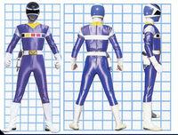 Blue Space Ranger Form