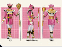Pink Mystic Ranger Legend Mode