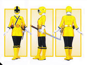 Yellow Samurai Ranger Form