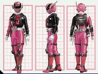 SPD Pink Ranger Swat Mode