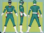 Green Turbo Ranger Form