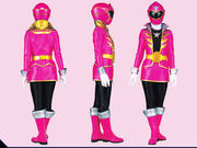 Pink Super Megaforce Ranger Form