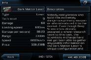 Dark matter laser info page