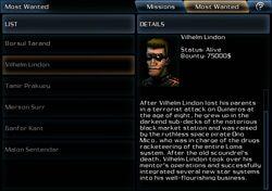 Vilhelm lindon mw info card