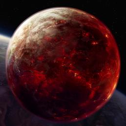 Planet Mustafar